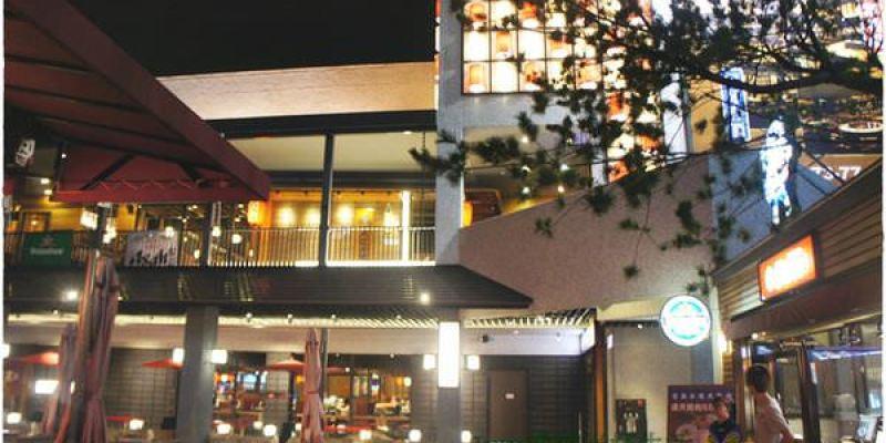 [台中美食]大江戶町~日式風情居酒屋的多重美味(環境篇)