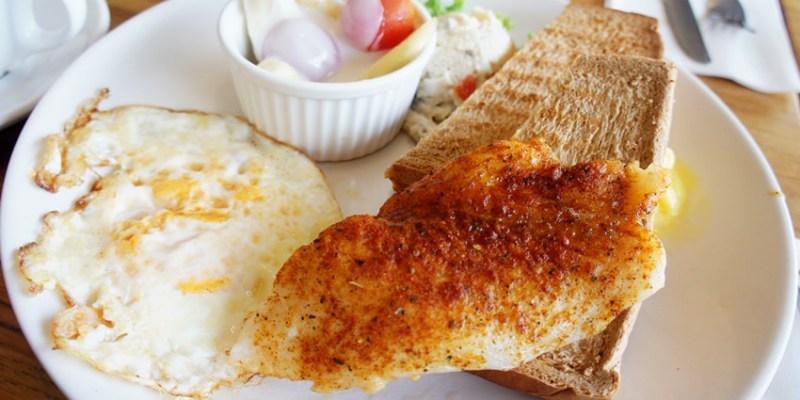 台中早午餐|摩卡珍思Mocha Jane's~尼克咖啡系列 國美館正對面 七點起全天候營業 西區早午餐