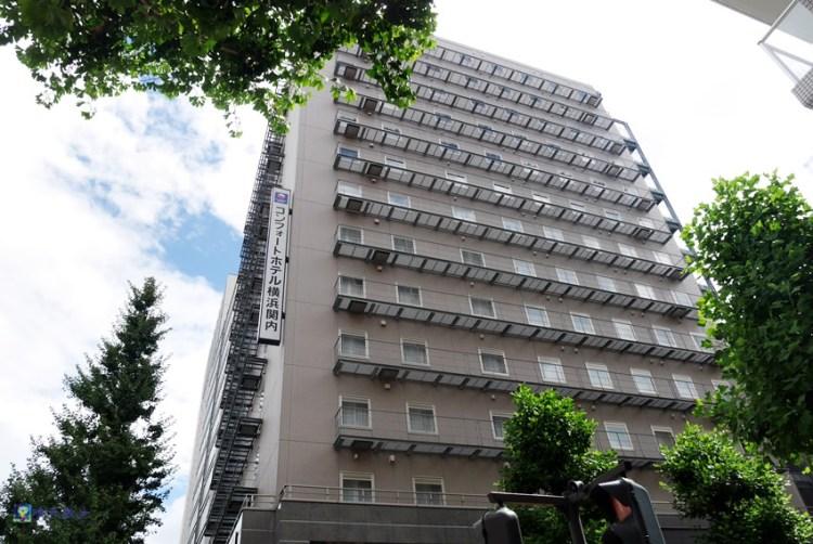 橫濱住宿|橫濱關內康福飯店 comfort hotel~近橫濱關內站 免費早餐 12歲以下兒童入住不加價
