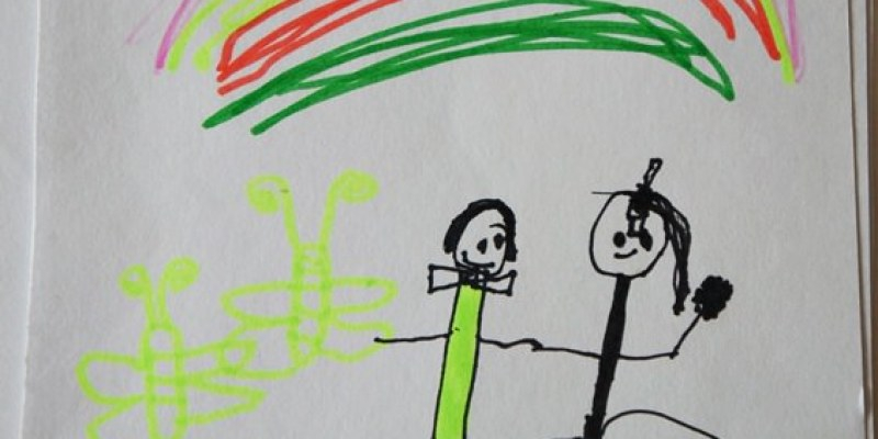 親子|小小孩愛畫畫 鄭寶貝三歲半塗鴉紀錄