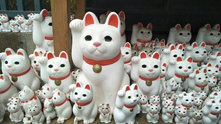 東京親子遊~以招財貓/招福貓聞名的「豪德寺」