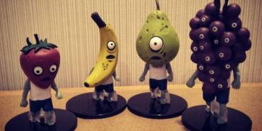 東京親子遊|成田機場扭蛋機~二航廈B1幾百台扭蛋機讓人失心瘋 有好夯的水果殭屍喔