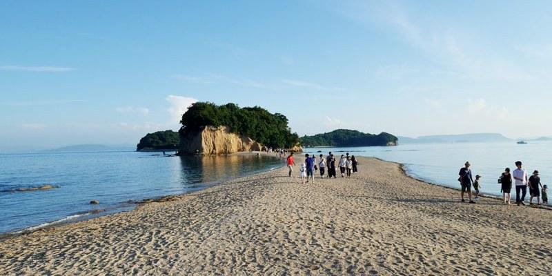 小豆島景點|天使的散步道 瀨戶內海跳島小旅行