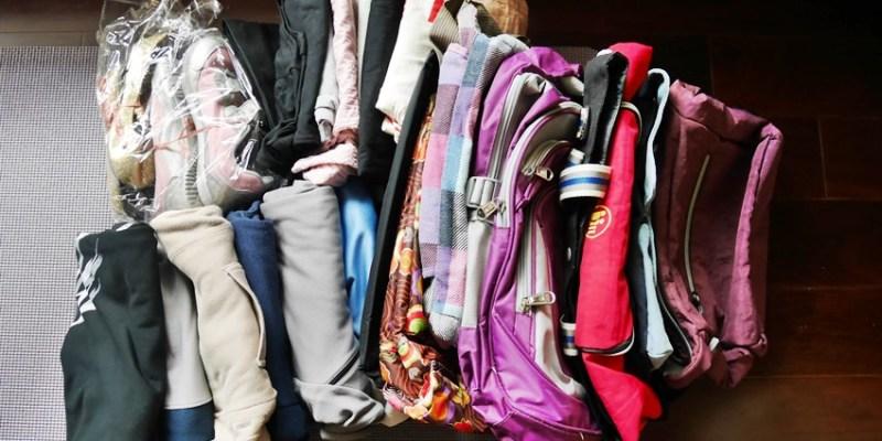 斷捨離做公益~挑出適合捐給舊鞋救命的舊鞋、舊衣、書包