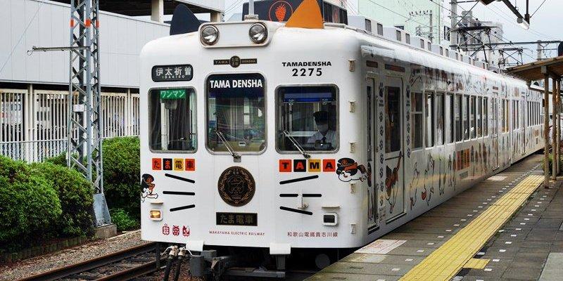 和歌山景點|貴志川線一日遊~小玉電車好可愛 來去伊太祈曽站看代理貓站長四代玉