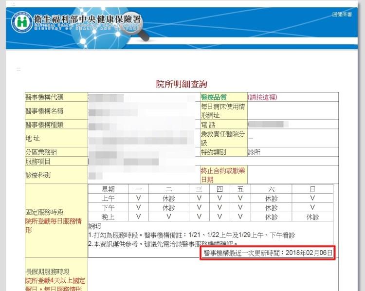台北市星期日看診的小兒科 快速查詢