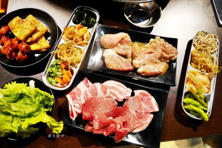 台中吃到飽|豬對有韓式烤肉吃到飽台中精武店~平價又豐富的韓式火烤兩吃 平日午餐吃到飽299元!