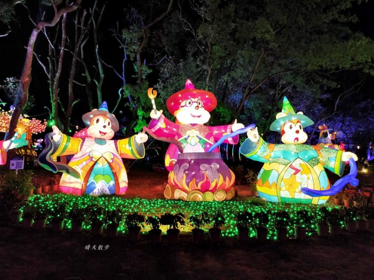 20200220163511 31 - 2020台灣燈會在台中~搭火車去后里逛台中燈會,森林園區好精彩,光之樹、聆聽花開永晝心、無人機秀、森林機械巨蟲秀!
