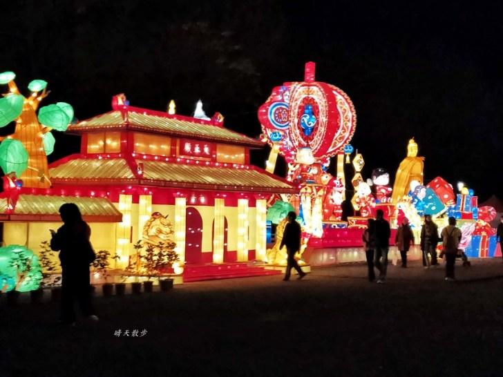 20200222103918 63 - 2020台灣燈會在台中~搭火車去后里逛台中燈會,推薦必看后里馬場園區珍寶馬戲團高空特技展演