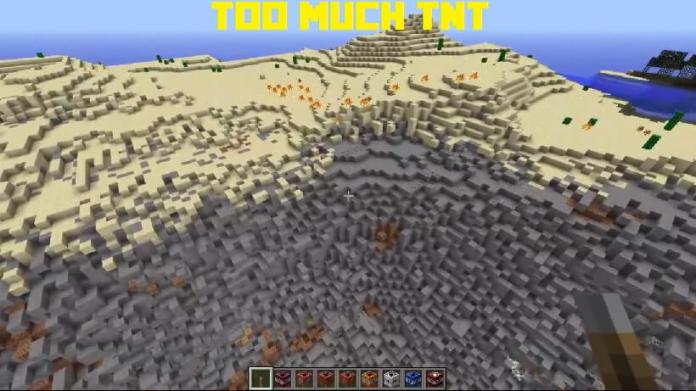 Too Much TNT Mod 1.8.8, 1.8.7, 1.8.4, 1.8.3, 1.8.1, 1.8