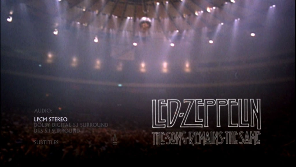 From The Song Remains The Same Led Zeppelin S Black Dog Live At Madison Square Garden