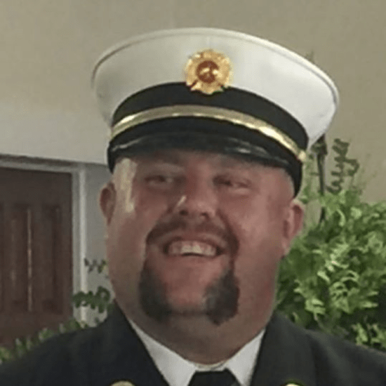 Tryon, NC, Fire Chief James 'Tank' Waters.