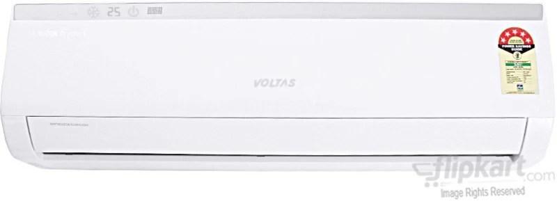 Voltas 1.5 Ton 5 Star Split AC - White(185Cya, Aluminium Condenser)