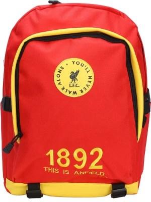 Liverpool LFC-IND-BKPK-119 9.5 L Backpack(Red)