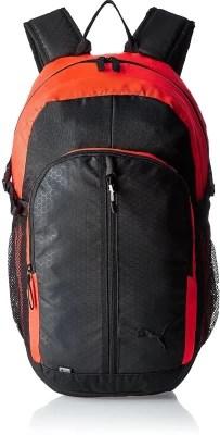 Puma Apex 23 L Laptop Backpack(Black, Red)
