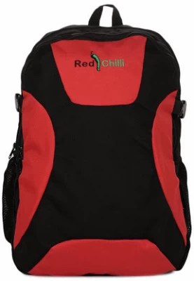Red Chilli Victory 32 L Free Size Backpack(Red & Black)