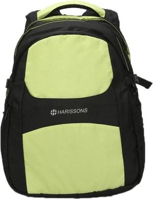 Harissons Circa 43 L Free Size Backpack(Green, Black)