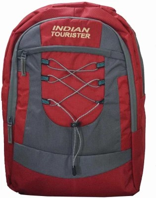 Indian Tourister NEC-BP-500-R 20 L Backpack(Red)