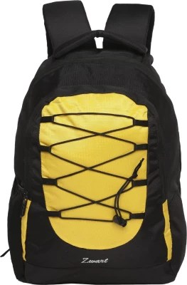Zwart 214101 25 L Free Size Laptop Backpack(Yellow)