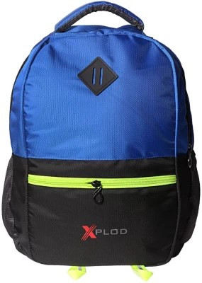 XPLOD XPLODITEM023B 25 L Backpack(Blue, Black)