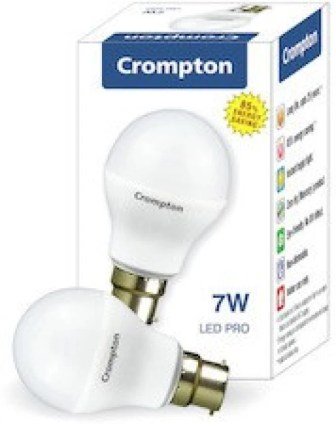 Crompton Greaves 7 W LED Bulb(White, Pack of 10)