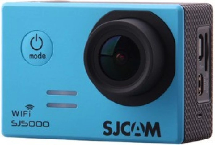 "SJCAM SJ5000 WIFI Lens f= 2.99mm /F= 2.8/170° 170"" Ultra orthoscopic camera Sports & Action Camera(Blue)"