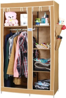 c76d902d16a 33% OFF on CbeeSo Stainless Steel Collapsible Wardrobe