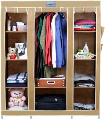 91b285ac2 26% OFF on CbeeSo Stainless Steel Collapsible Wardrobe