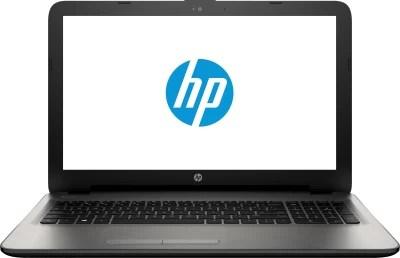 HP Core i3 5th Gen - (4 GB/1 TB HDD/DOS/2 GB Graphics) N8M06PA#ACJ 15-ac083TX Notebook(15.6 inch, Turbo SIlver Colour With Diamond & Cross Brush Pattern, 2.19 kg)