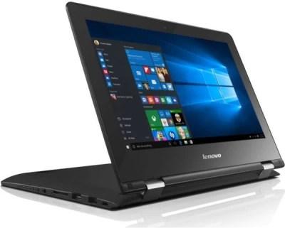 Lenovo Yoga Pentium Quad Core 4th Gen - (4 GB/500 GB HDD/Windows 10 Home) 300 2 in 1 Laptop(11.6 inch, Black, 1.39 kg)