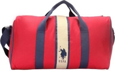 U.S. Polo Assn. USAX0096 17 inch/45 cm Travel Duffel Bag(Red)