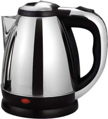 Black Cat TR-1108 Electric Kettle(1.8 L, Silver)