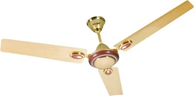 Havmore Jaguar 3 Blade Ceiling Fan(Gold, Brown)
