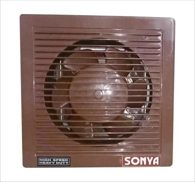 Sonya 6 HS BROWN VENTILATION EXHAUST 5 Blade Exhaust Fan(Brown)