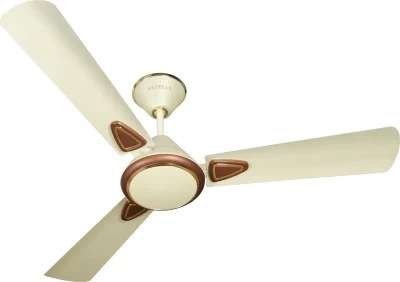 Havells Fusion II 3 Blade Ceiling Fan(Brown, White)