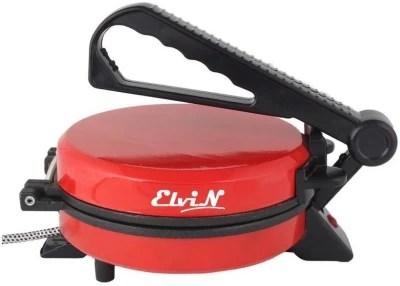 Elvin Electric Phulka Papad Maker Machine Chapati Roti/Khakhra Maker(Cherry)