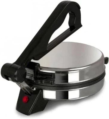 Varshine Eagle S-55 non stick with demo C.D Roti/Khakhra Maker(Silver, Black)