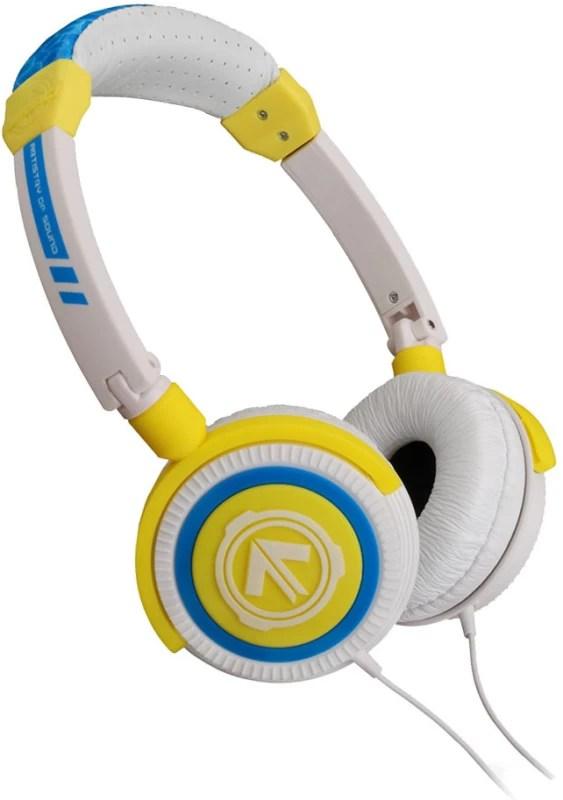 AERIAL7 Phoenix Citron On-the-ear Headset(White & Yellow)
