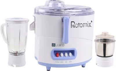 Rotomix Rotomix JMG 450 W Juicer Mixer Grinder(White, 2 Jars)