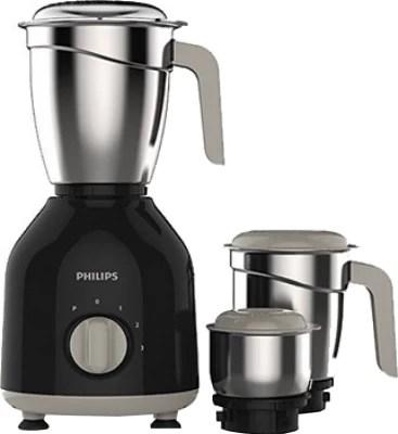 Philips HL7756/00 750 W Mixer Grinder(Black, 3 Jars)