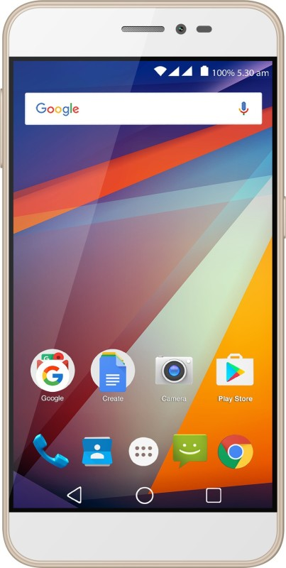 Panasonic P85 (Gold, 16 GB)(2 GB RAM)