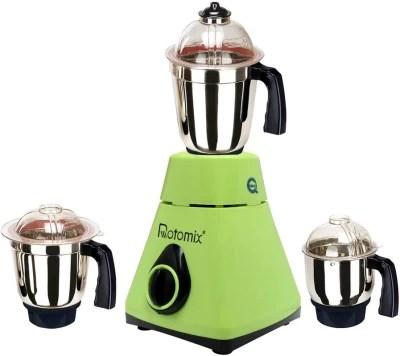 Rotomix New_MG16-291MA 750 W Mixer Grinder(Green, 3 Jars)