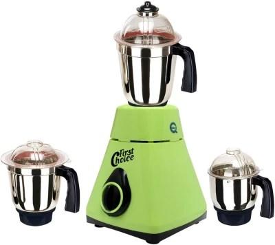 Firstchoice New_MG16-230MA 1000 W Mixer Grinder(Green, 3 Jars)