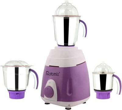 Rotomix New_MG16-328MA 1000 W Mixer Grinder(Purple, 3 Jars)