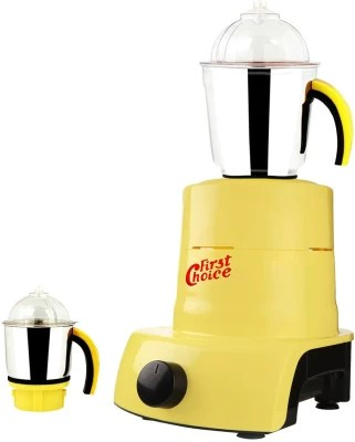 Firstchoice ABS Plastic YPMA17_401 600 W Mixer Grinder(Yellow, 2 Jars)