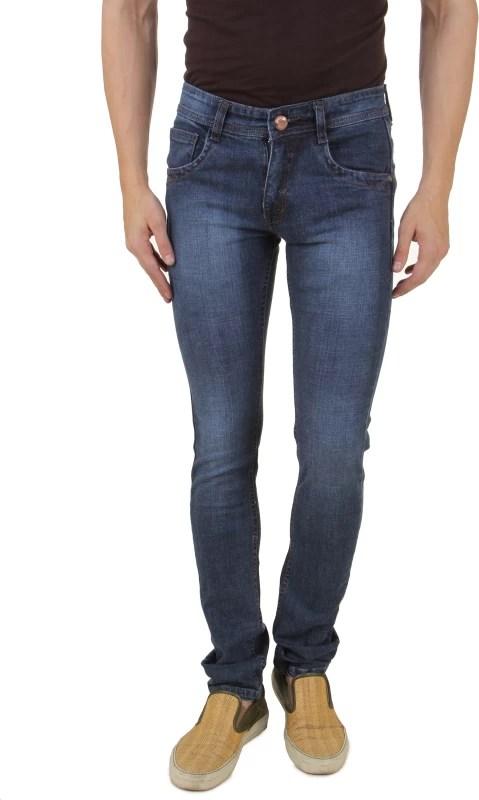 UK Blue Slim Men's Blue Jeans