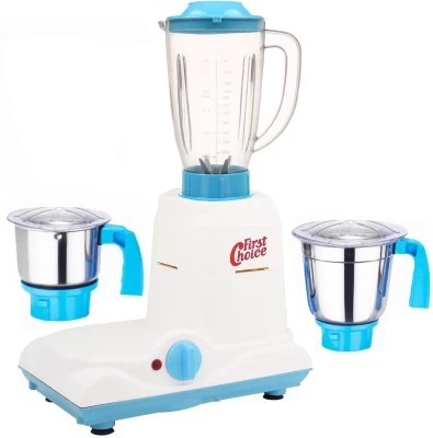 First Choice ABS Body MGJ-WFJ16-63 750 W Mixer Grinder(Multicolor, 3 Jars)