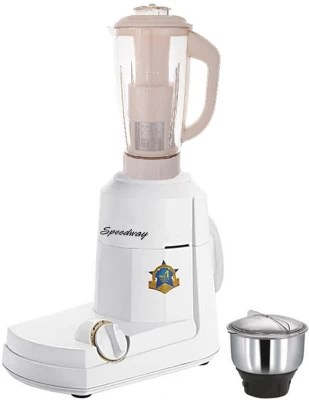 speedway Latest Jar attachments of chutney & juicer jarType-306 750 W Juicer Mixer Grinder(Multicolor, 2 Jars)