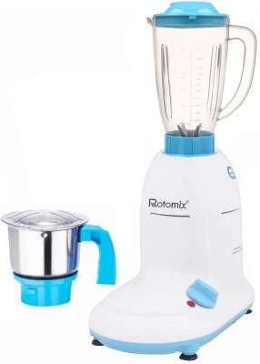 Rotomix ABS Body MGJ-WFJ16-28 600 W Mixer Grinder(Multicolor, 2 Jars)