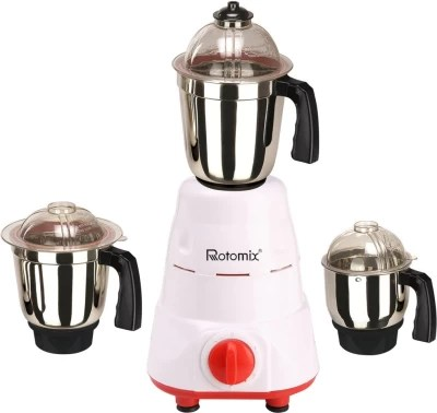 Rotomix RTM-MG16 18 600 W Mixer Grinder(Red, 3 Jars)